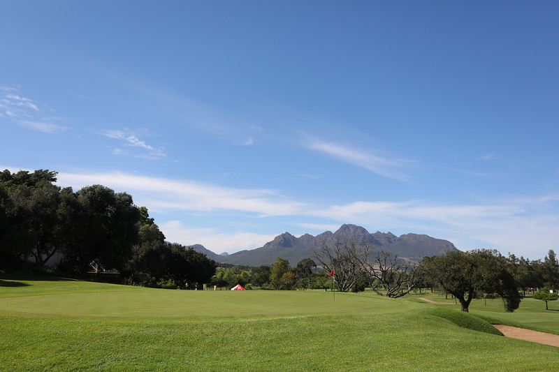 STELLENBOSCH, SOUTH AFRICA - OCTOBER 2: Hole 6 during the held at Stellenbosch Golf Club on October 2, 2018 in Stellenbosch, South Africa. EDITOR'S NOTE: For free editorial use. Not available for sale. No commercial usage. (Photo by Carl Fourie/Sunshine Tour)