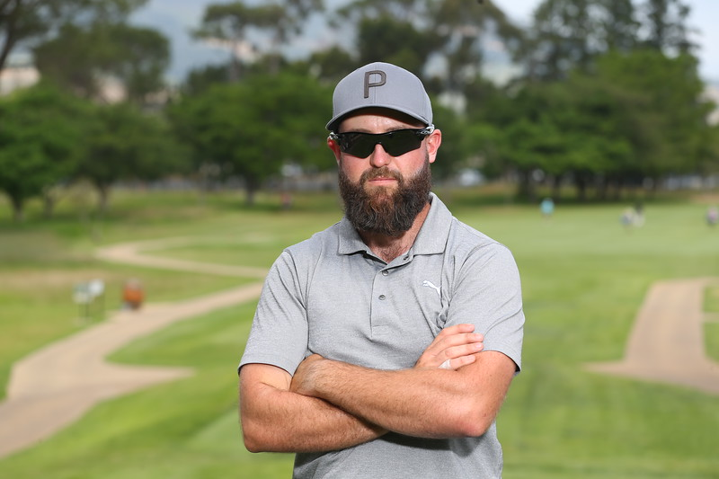 STELLENBOSCH, SOUTH AFRICA - OCTOBER 2: Stephen Croy during the held at Stellenbosch Golf Club on October 2, 2018 in Stellenbosch, South Africa. EDITOR'S NOTE: For free editorial use. Not available for sale. No commercial usage. (Photo by Carl Fourie/Sunshine Tour)