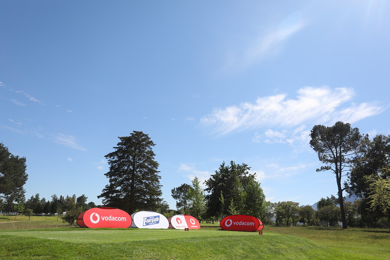 STELLENBOSCH, SOUTH AFRICA - OCTOBER 2: Hole 11 during the held at Stellenbosch Golf Club on October 2, 2018 in Stellenbosch, South Africa. EDITOR'S NOTE: For free editorial use. Not available for sale. No commercial usage. (Photo by Carl Fourie/Sunshine Tour)