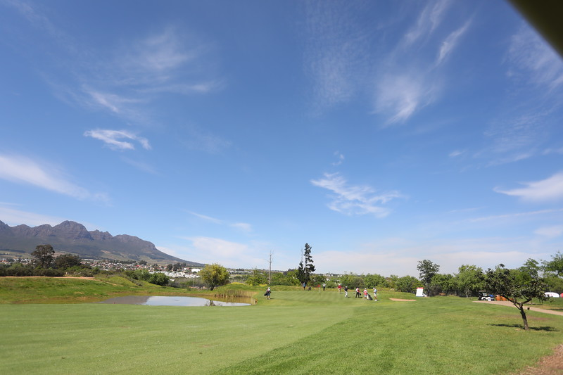 STELLENBOSCH, SOUTH AFRICA - OCTOBER 2: Hole 12 during the held at Stellenbosch Golf Club on October 2, 2018 in Stellenbosch, South Africa. EDITOR'S NOTE: For free editorial use. Not available for sale. No commercial usage. (Photo by Carl Fourie/Sunshine Tour)