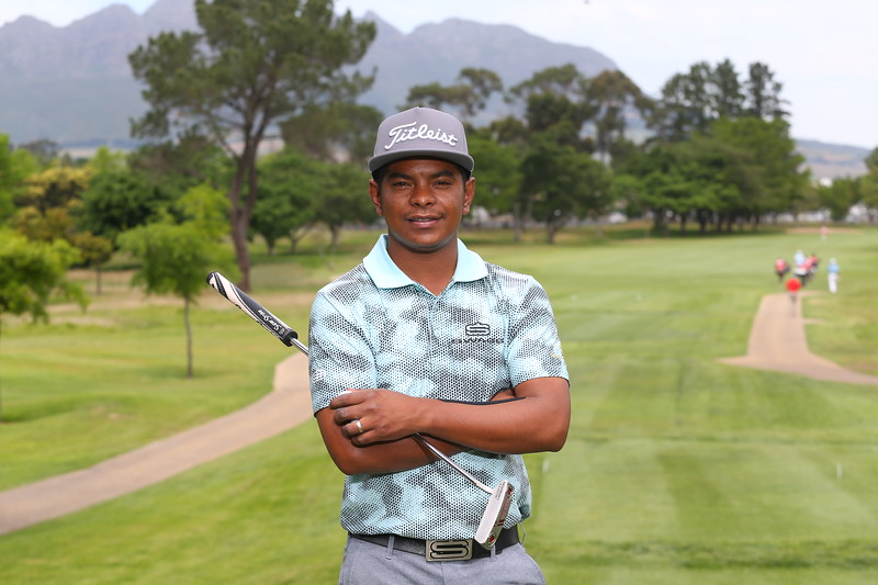STELLENBOSCH, SOUTH AFRICA - OCTOBER 2: Keenan Davidse during the held at Stellenbosch Golf Club on October 2, 2018 in Stellenbosch, South Africa. EDITOR'S NOTE: For free editorial use. Not available for sale. No commercial usage. (Photo by Carl Fourie/Sunshine Tour)