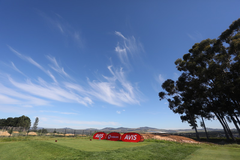 STELLENBOSCH, SOUTH AFRICA - OCTOBER 2: Hole 5 during the held at Stellenbosch Golf Club on October 2, 2018 in Stellenbosch, South Africa. EDITOR'S NOTE: For free editorial use. Not available for sale. No commercial usage. (Photo by Carl Fourie/Sunshine Tour)