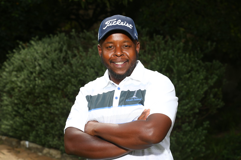 STELLENBOSCH, SOUTH AFRICA - OCTOBER 2: Teboho Sefatsa during the held at Stellenbosch Golf Club on October 2, 2018 in Stellenbosch, South Africa. EDITOR'S NOTE: For free editorial use. Not available for sale. No commercial usage. (Photo by Carl Fourie/Sunshine Tour)