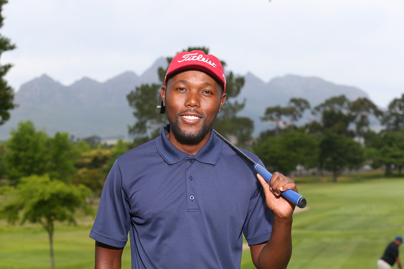 STELLENBOSCH, SOUTH AFRICA - OCTOBER 2: Sipho Bujela during the held at Stellenbosch Golf Club on October 2, 2018 in Stellenbosch, South Africa. EDITOR'S NOTE: For free editorial use. Not available for sale. No commercial usage. (Photo by Carl Fourie/Sunshine Tour)