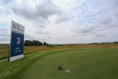 JOHANNESBURG, SOUTH AFRICA - FEBRUARY 19: Hole 3 during preview day of the 2020 Tour Championship at Serengeti Estates on February 19, 2020 in Johannesburg, South Africa. (Photo by Carl Fourie/Sunshine Tour)