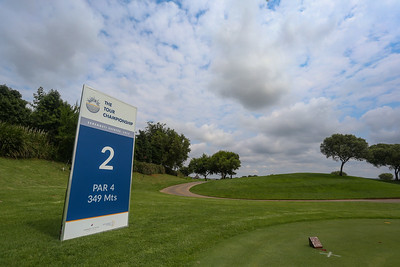 JOHANNESBURG, SOUTH AFRICA - FEBRUARY 19: Hole 2 during preview day of the 2020 Tour Championship at Serengeti Estates on February 19, 2020 in Johannesburg, South Africa. (Photo by Carl Fourie/Sunshine Tour)