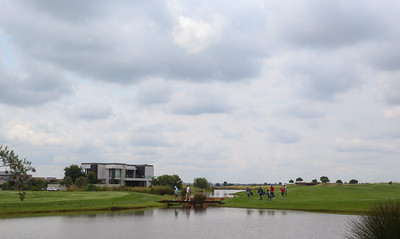JOHANNESBURG, SOUTH AFRICA - FEBRUARY 19: Hole 6 during preview day of the 2020 Tour Championship at Serengeti Estates on February 19, 2020 in Johannesburg, South Africa. (Photo by Carl Fourie/Sunshine Tour)