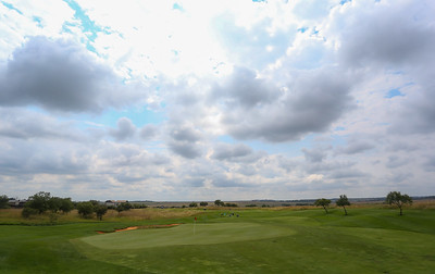 JOHANNESBURG, SOUTH AFRICA - FEBRUARY 19: Hole 5 during preview day of the 2020 Tour Championship at Serengeti Estates on February 19, 2020 in Johannesburg, South Africa. (Photo by Carl Fourie/Sunshine Tour)