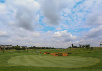 JOHANNESBURG, SOUTH AFRICA - FEBRUARY 19: Hole 7 during preview day of the 2020 Tour Championship at Serengeti Estates on February 19, 2020 in Johannesburg, South Africa. (Photo by Carl Fourie/Sunshine Tour)