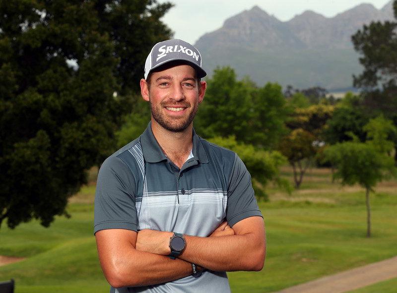 STELLENBOSCH, SOUTH AFRICA - OCTOBER 2: Darin de Smidt during the held at Stellenbosch Golf Club on October 2, 2018 in Stellenbosch, South Africa. EDITOR'S NOTE: For free editorial use. Not available for sale. No commercial usage. (Photo by Carl Fourie/Sunshine Tour)