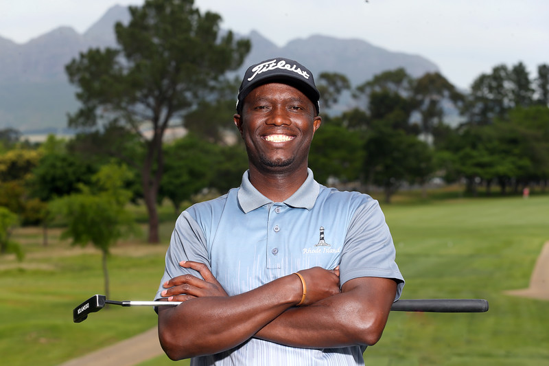 STELLENBOSCH, SOUTH AFRICA - OCTOBER 2: Thato Mazibuko during the held at Stellenbosch Golf Club on October 2, 2018 in Stellenbosch, South Africa. EDITOR'S NOTE: For free editorial use. Not available for sale. No commercial usage. (Photo by Carl Fourie/Sunshine Tour)