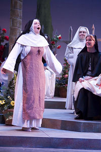 Opera Santa Barbara, Suor Angelica dress, February 23, 2006