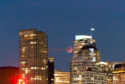 Super Blood Moon Eclipse - Seattle