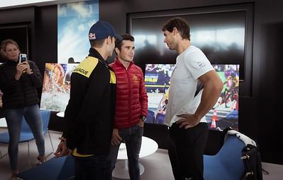Athletes meet Rafa Nadal