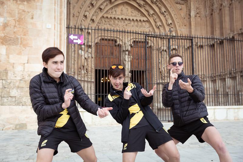 Athletes visit to Palma