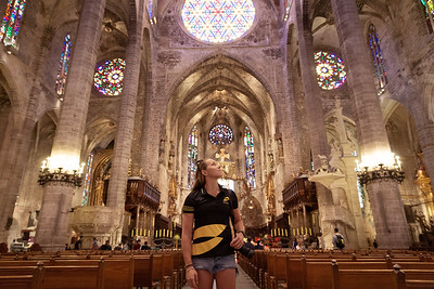Athletes visit to Palma