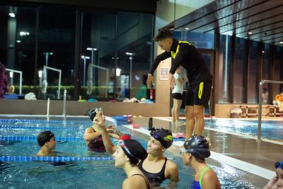 Athletes Swim Session