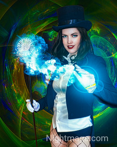 Cosplay - Zantanna - DC Comics Cosplayer : unknown November - 2018 Comicon : SuperMegaFest
