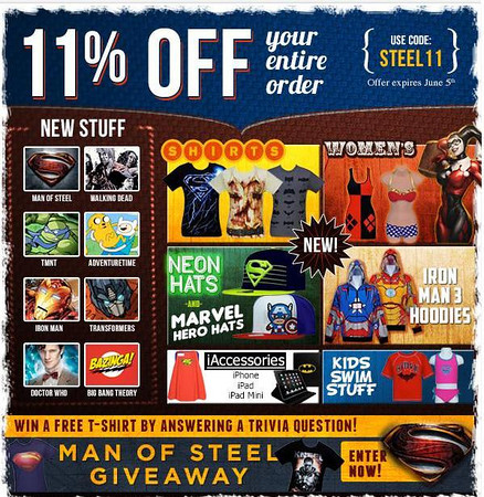 Super Hero Stuff Ads