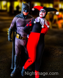 Batman and Harley Quinn