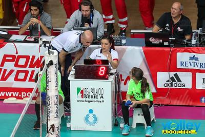 Revivre Milano 3 - Biosì Indexa Sora 2 10^ Giornata di Ritorno SuperLega 2016/2017 Busto Arsizio (VA) - 12 febbraio 2017