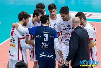 Revivre Milano 2 - Top Volley Latina 3 12^ Giornata SuperLega 2016/2017 Busto Arsizio (VA) - 28 novembre 2016