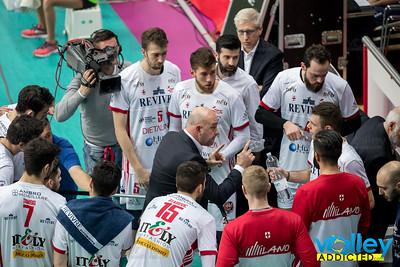 Revivre Milano 0 - Gi Group Monza 3 3^ Giornata Ritorno SuperLega 2016/2017 Busto Arsizio (VA) - 26 dicembre 2016