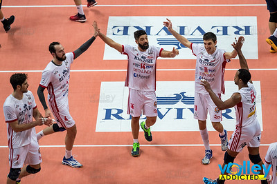 Revivre Milano 0 - Calzedonia Verona 3, SuperLega 2016/2017 in Busto Arsizio, Italy