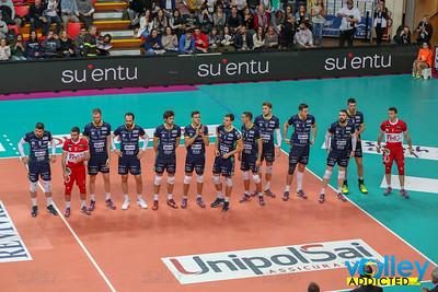 Revivre Milano 2 - Diatec Trentino 3 1^ Giornata di Ritorno SuperLega 2017/2018 Busto Arsizio (VA) - 30 dicembre 2017