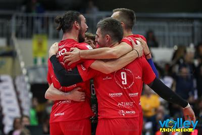 Wixo LPR Piacenza - Sir Safety Conad Perugia 0-3 3^ Giornata SuperLega 2017/2018 Piacenza (PC) - 25 ottobre 2017