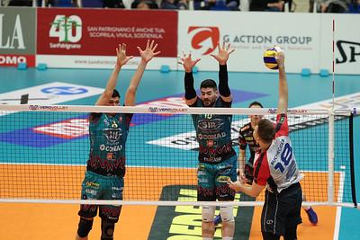 Vero Volley Monza 0 - Sir Safety Conad Perugia 3 9^ Giornata di Ritorno - SuperLega Credem Banca 2018/19 Monza - 24 febbraio 2018