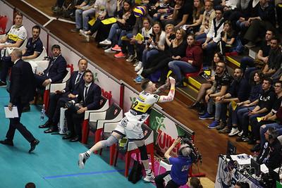 Revivre Axopower Milano 1 - Azimut Leo Shoes Modena 3 Gara 2 Quarti di Finale PlayOff Scudetto - SuperLega Credem Banca 2018/19 Busto Arsizio (VA) - 6 aprile 2019