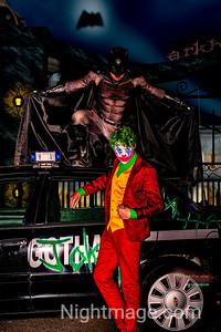 Batman and Joker