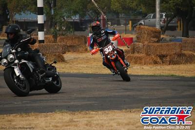 Superbike-coach Body Position Class