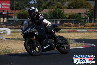 Superbike-coach BMW NorCal & Cornering School Day 2 (7-10-21)