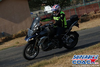 Superbike Coach Cornering School Day 1