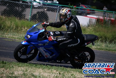 Superbike-coach Turn 12 Ninja 250
