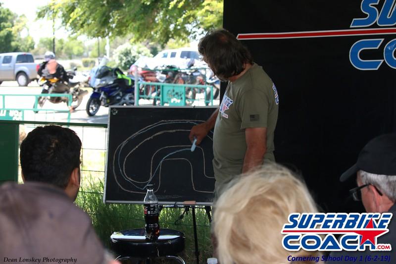 Superbike-coach bus stop
