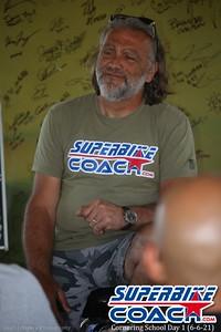 Superbike-coach Corp Cornering School Day 1  (6-6-21)