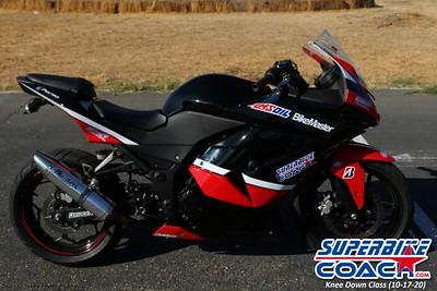 Superbike-coach Knee Down Class