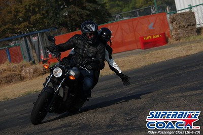 Superbike-coach Rider-Passenger motorcycle riding class