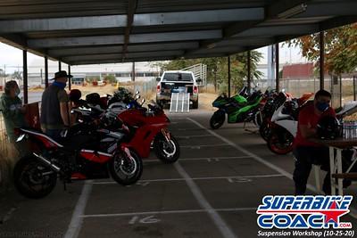 Superbike-coach Suspension Workshop 2020