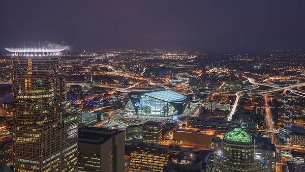 Minneapolis - Skyline Panorama 2