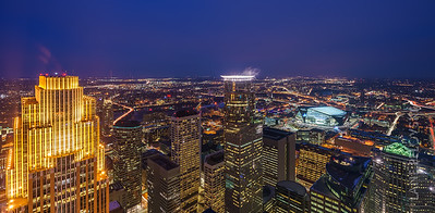 Minneapolis - Skyline Panorama