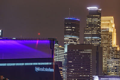Minneapolis - US Bank Stadium and the Big Three