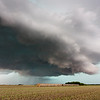 An outflow-dominant HP supercell approaches near Concordia, KS, on June 19, 2010.