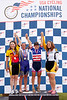 Womens 50-54 2km TT Podium - L to R - Tracy Barclay, Shannon Youngquist Lucy, MaryAnn Levenson and Cathy Morgan