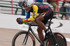 Patrick Gellineau showing off his fluid style while on the way to winning the 55-59 2km TT.