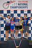 Womens Sprints 45-49 Podium - L to R - Janet Lischer, Annette Williams, Cj Boyenger, Tara Unverzagt and Pamela Jackson