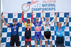 "Men's 50-54 500m TT Podium - L to R - Craig ""Yo"" Erickson, Alphonso Whaley, Richard Voss, Russell Murphy and Scott Butler"